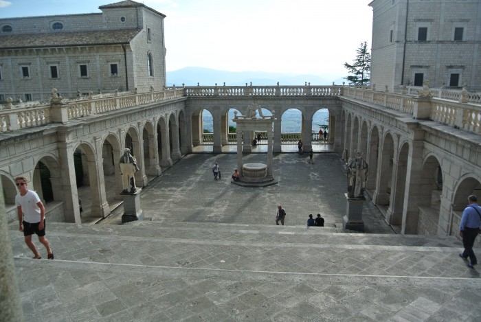 Montecassino Abbey and War Cemetery